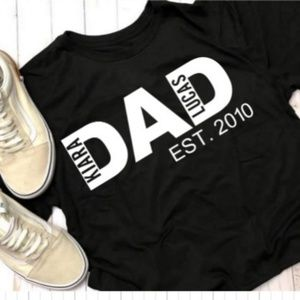 Fathers Day Dad and Papa shirts NWT
